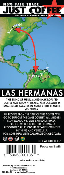 La Hermanas coffee